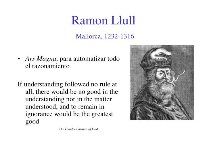Ramon Llull