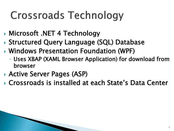 Crossroads Technology