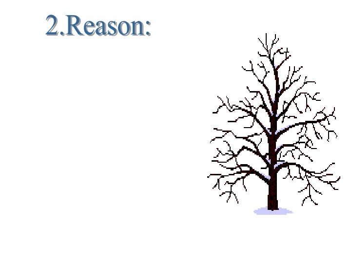 2.Reason: