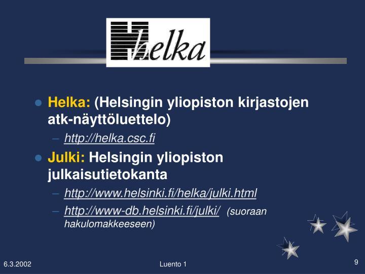 Helka: