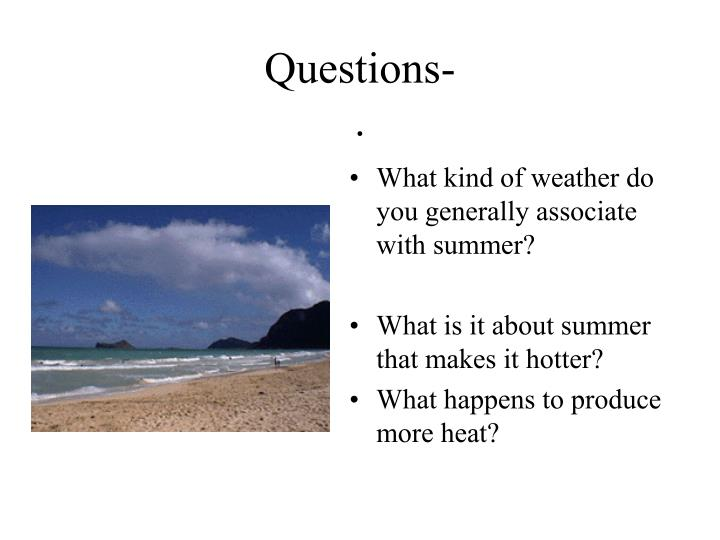 Questions-