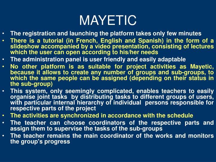 MAYETIC