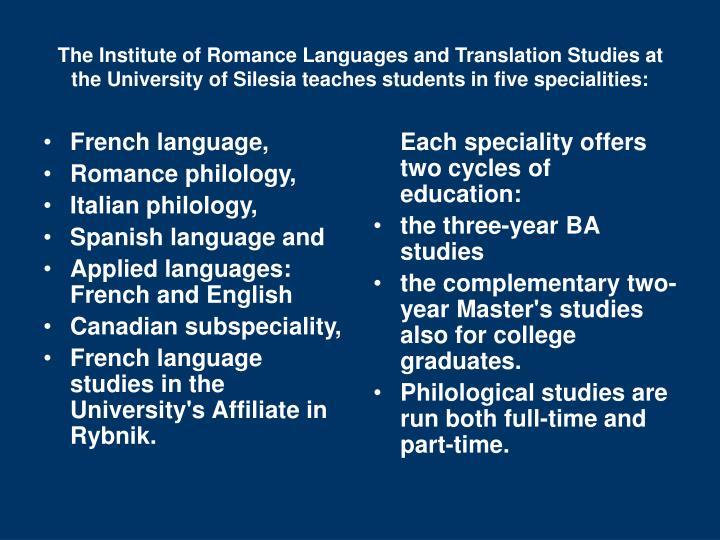 French language,