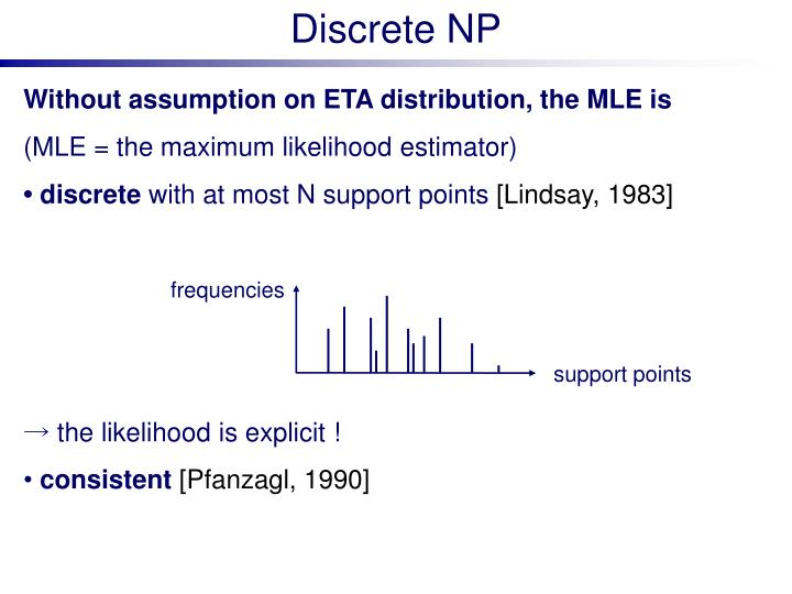 Discrete NP
