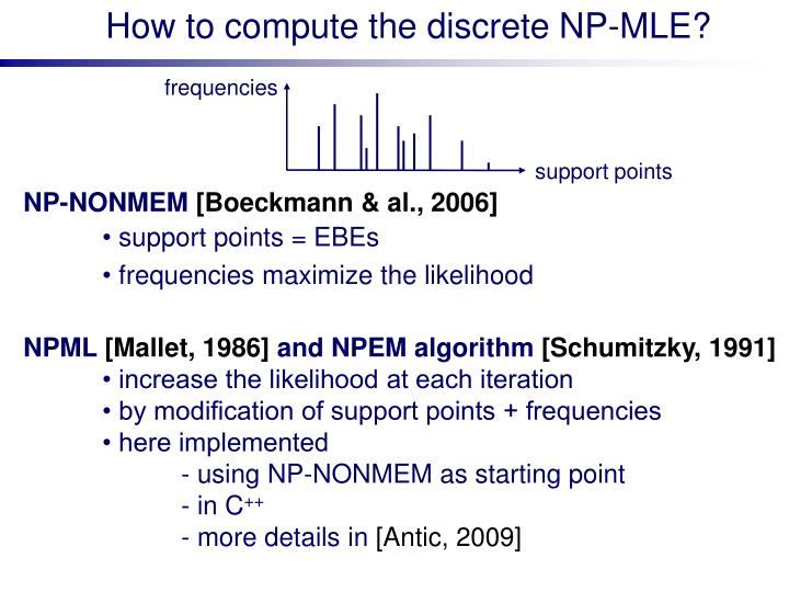 How to compute the discrete NP-MLE?