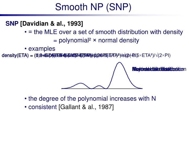 Smooth NP (SNP)