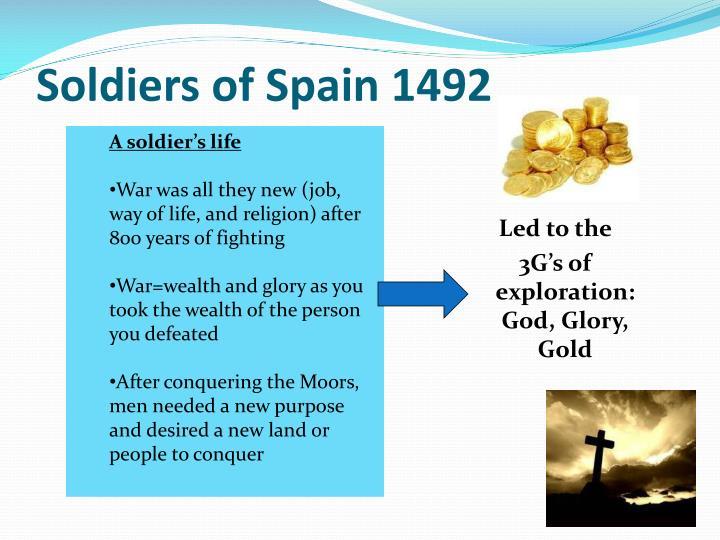 Soldiers of Spain 1492
