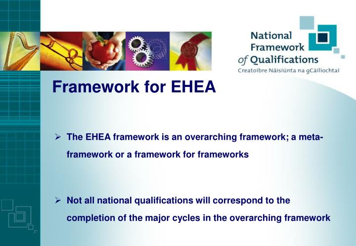 Framework for EHEA