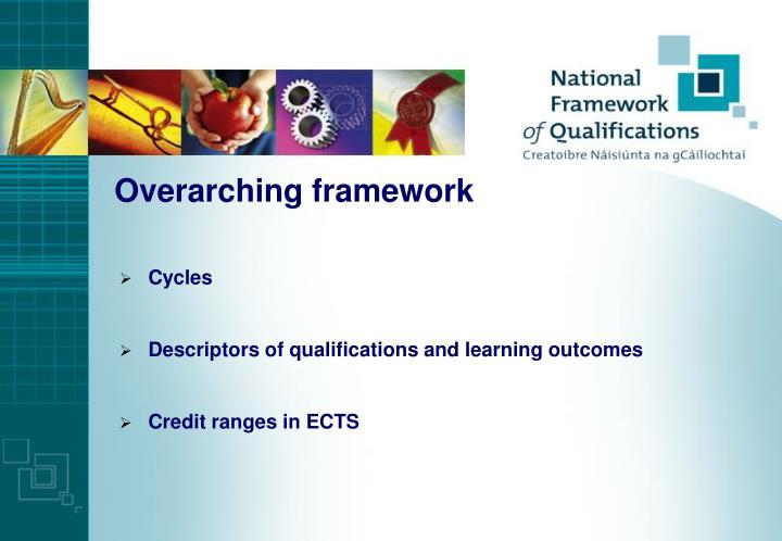 Overarching framework