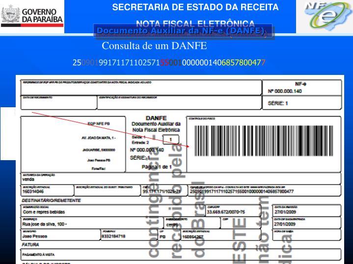 Documento Auxiliar da NF-e (DANFE)