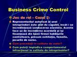 business crime control4