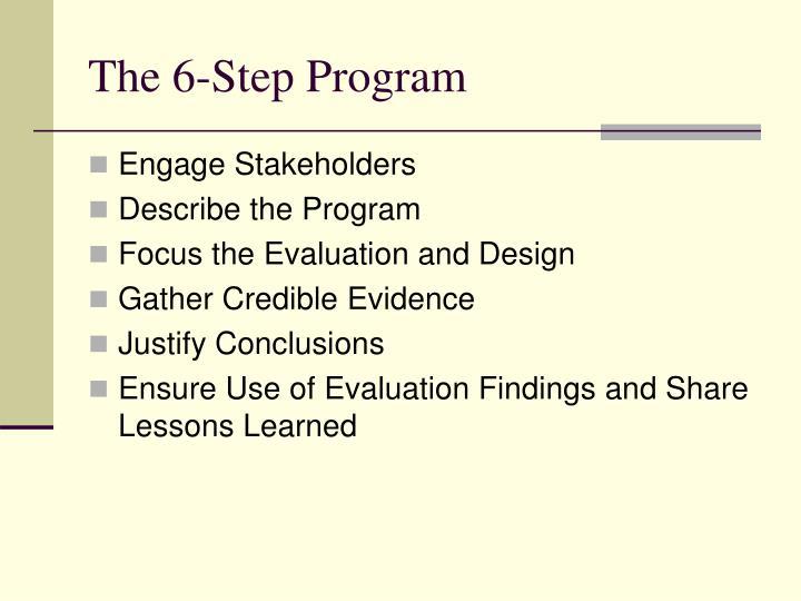 The 6-Step Program