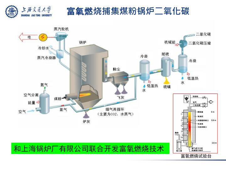 富氧燃烧捕集煤粉锅炉二氧化碳