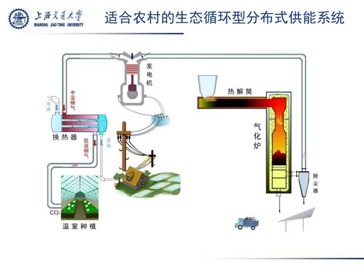 适合农村的生态循环型分布式供能系统