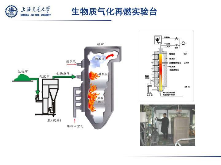 生物质气化再燃实验台