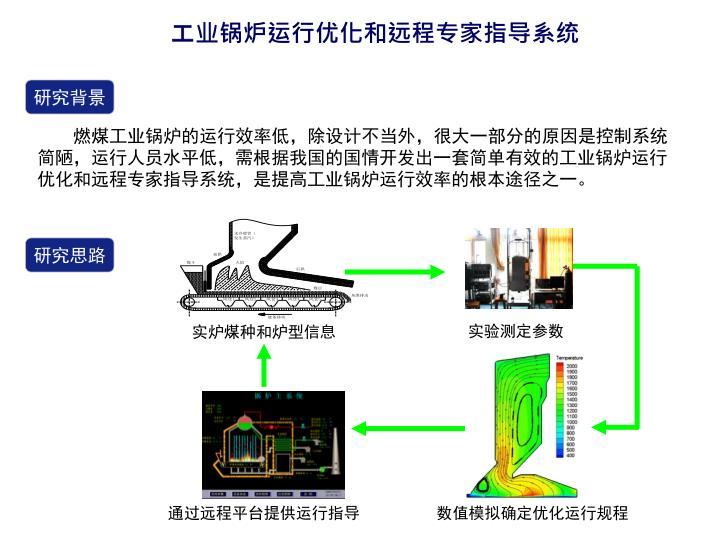工业锅炉运行优化和远程专家指导系统