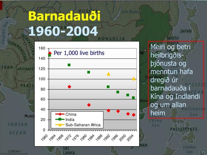 Barnadauði
