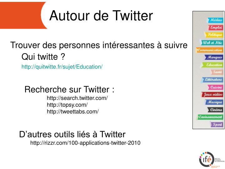 Autour de Twitter