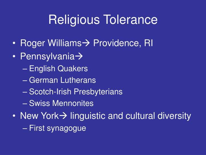 Religious Tolerance