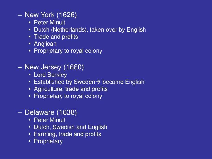 New York (1626)