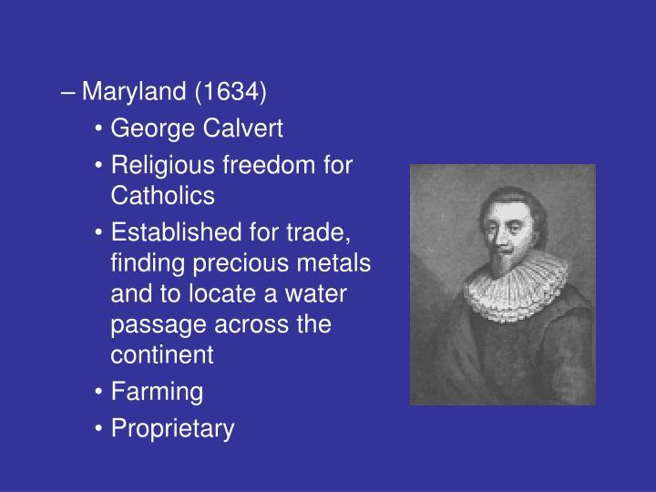 Maryland (1634)