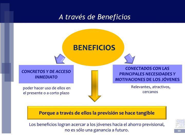 A través de Beneficios