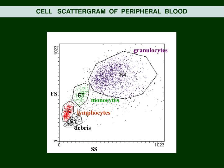 CELL   SCATTERGRAM  OF  PERIPHERAL  BLOOD