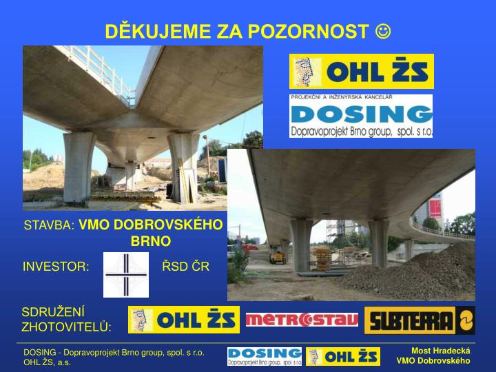 VMO DOBROVSKÉHO