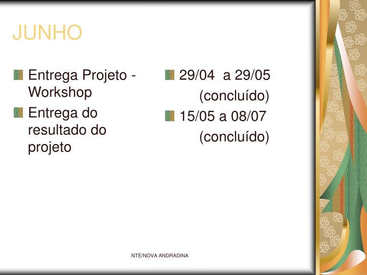 Entrega Projeto - Workshop