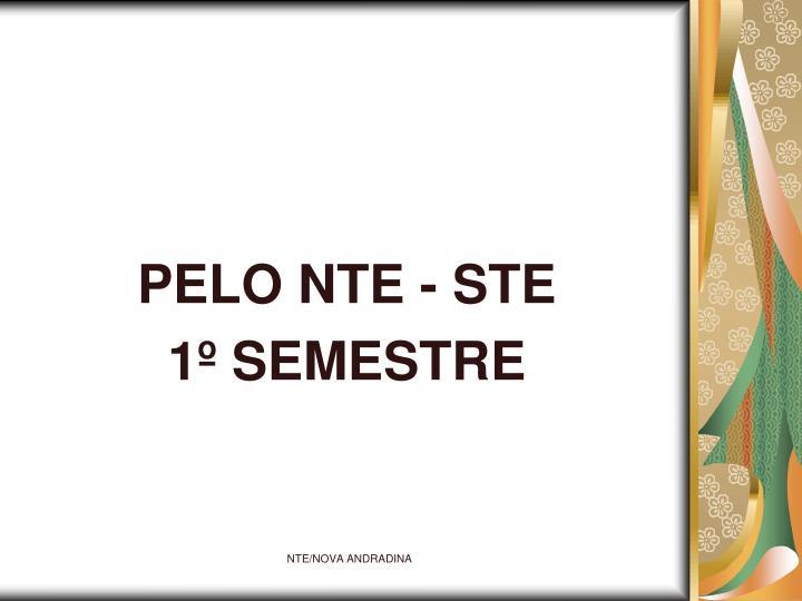 PELO NTE - STE
