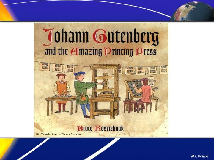 http://www.bookrags.com/Johann_Gutenberg