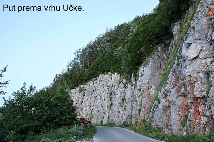 Put prema vrhu Učke.
