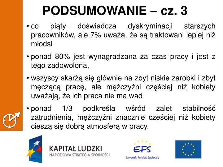 PODSUMOWANIE – cz. 3