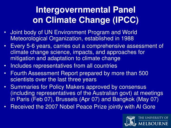 Intergovernmental Panel