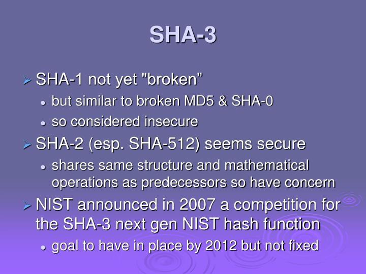 SHA-3