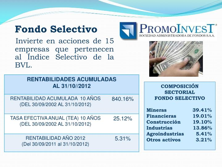 Fondo Selectivo