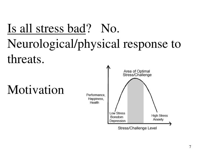 Is all stress bad