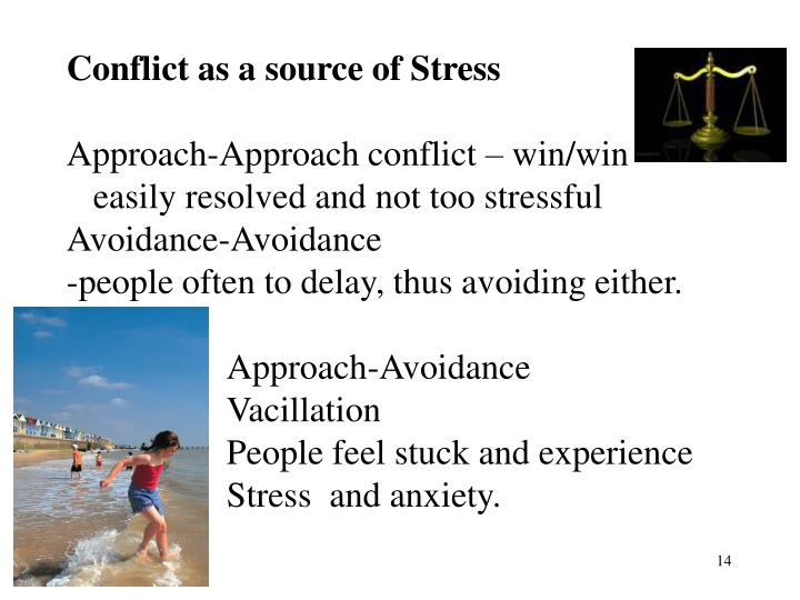 Conflict as a source of Stress