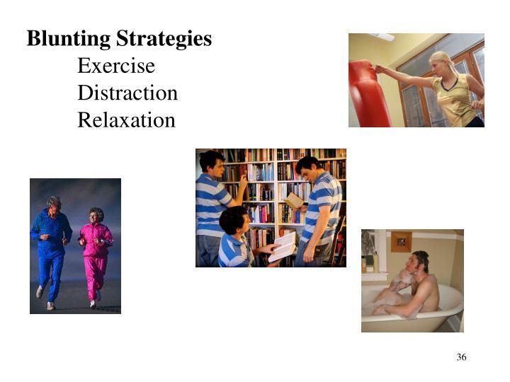 Blunting Strategies