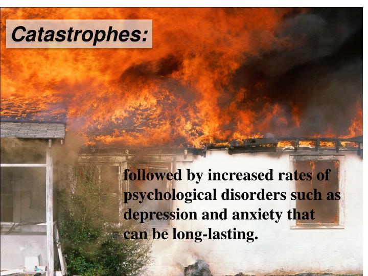 Catastrophes: