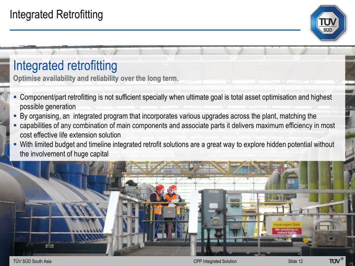 Integrated Retrofitting