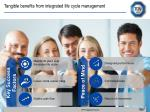 tangible benefits from integrated life cycle management