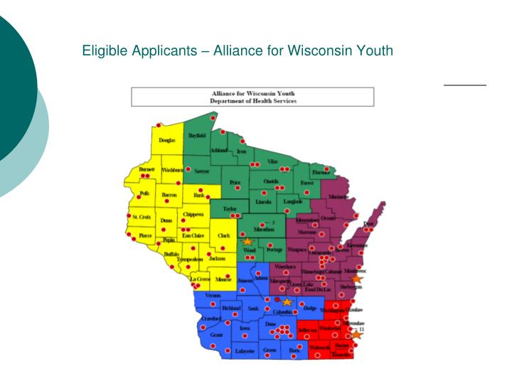 Eligible Applicants – Alliance for Wisconsin Youth