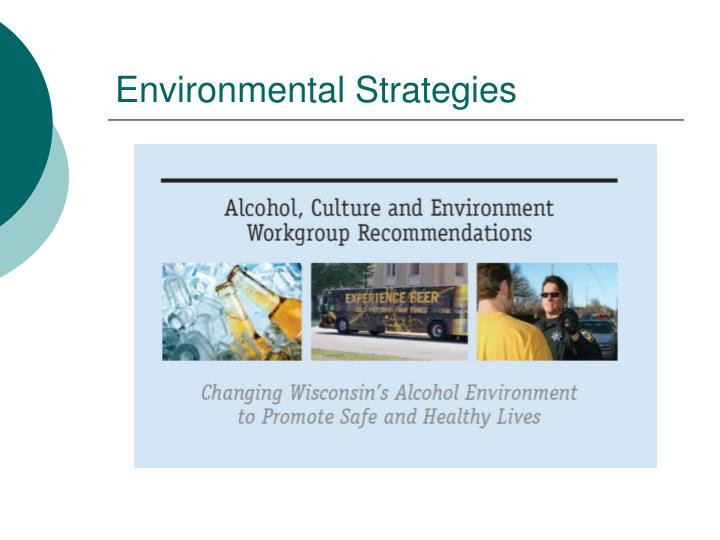 Environmental Strategies