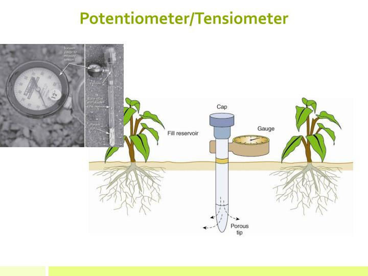 Potentiometer/Tensiometer