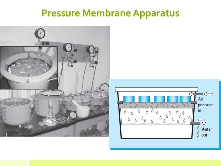 Pressure Membrane Apparatus
