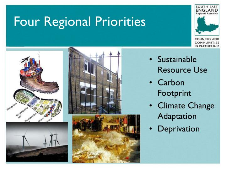 Four Regional Priorities