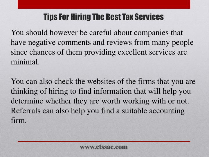 You should however be careful about companies that have negative comments and reviews from many people since chances of them providing excellent services are minimal