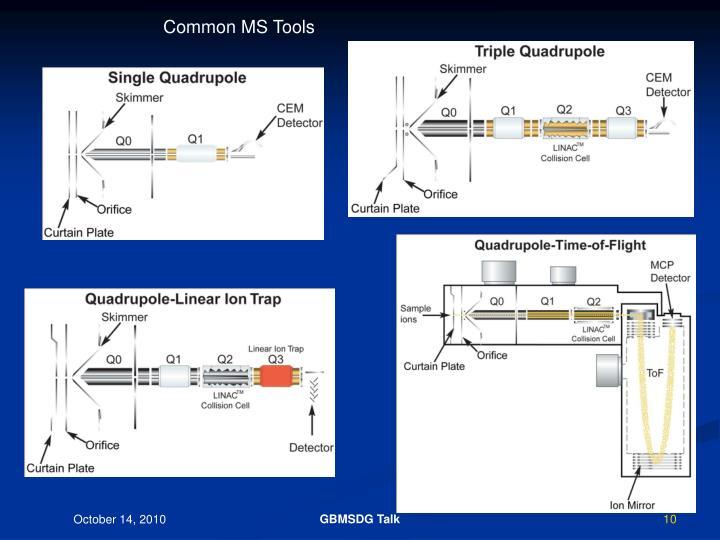 Common MS Tools