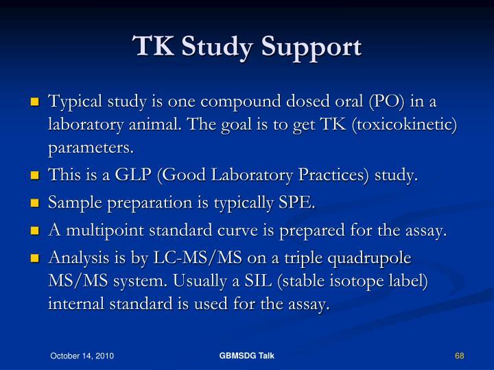 TK Study Support